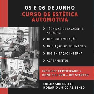 CURSO DE ESTÉTICA AUTOMOTIVA (05 e 06 de Junho)