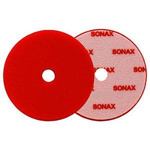 """BOINA DE ESPUMA VERMELHA CORTE 5,5"""" - SONAX"""