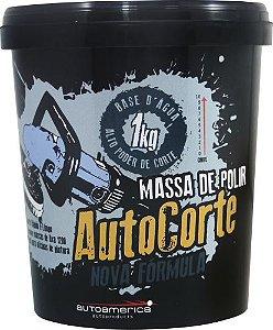 MASSA DE POLIR AUTO CORTE 1KG - AUTO AMÉRICA