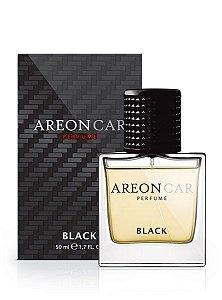 PERFUME PARA CARROS BLACK PRETO 50ML - AREON