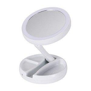 Espelho de Led Portátil Dobrável