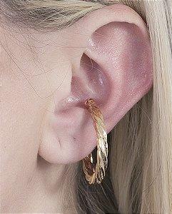 Piercing fake dourado ghos