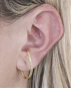 Piercing fake dourado cys