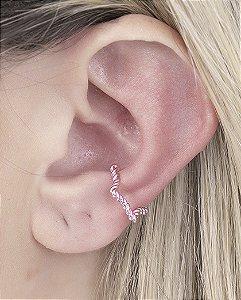 Piercing fake rosa saiko
