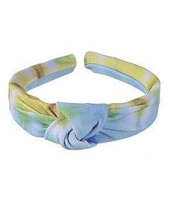 Tiara de tecido tie dye 3