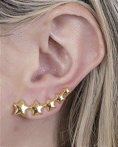Ear cuff dourado cidral
