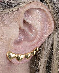 Ear cuff dourado winna