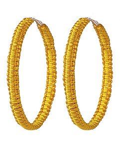 Argola amarela wiske