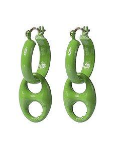 Argola verde haks