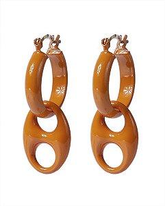 Argola laranja haks