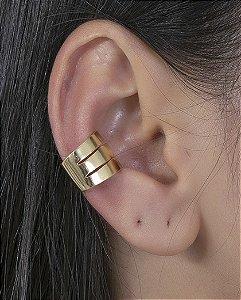 Piercing fake dourado klay