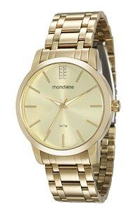 Relógio Feminino Mondaine Dourado