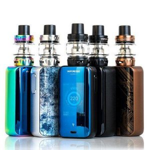Vaporesso Luxe S Kit - 220W - SKRR-S Tank + Capa de Silicone