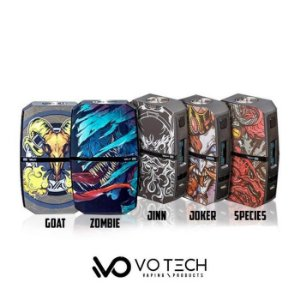 Votech Via 240 Dual Battery Box Mod - 240W