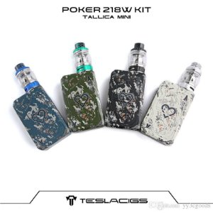 Tesla Poker 218 Kit - Tallica Mini tank - 218W
