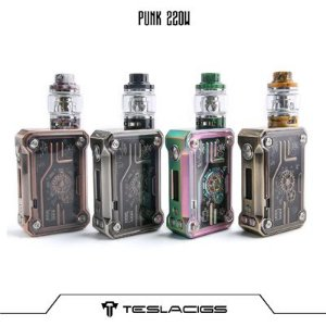 Tesla Punk 220W com Resin Tank Kit