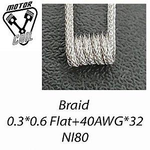 Motor Coil - Braid 0.26 Ohm - (Valor do par)