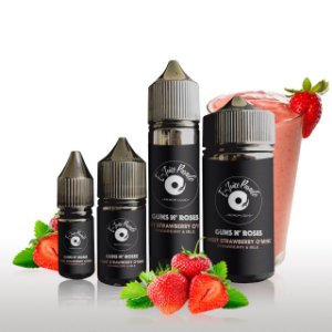 E-Juice Parade - Guns N' Roses -Sweet Strawberry O' Mine (Strawberry Milk)