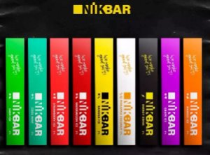 NikBar - Pod Stig Bar - Descartavel