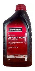 Kit Óleo Motor Com 5l -15w40 Motorcraft