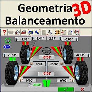 Serviço de Geometria 3D + Balanceamento
