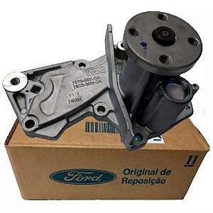 Bomba D'Agua New Fiesta/Eco/Ka/Focus C/Junta Motores Sigma