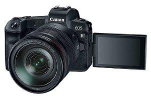 Câmera EOS R Kit RF 24-105mm f/4L IS USM ( produto nacional lacrado ) com adaptador viltrox