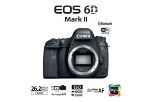 CAMERA CANON EOS 6D Mark II - Corpo