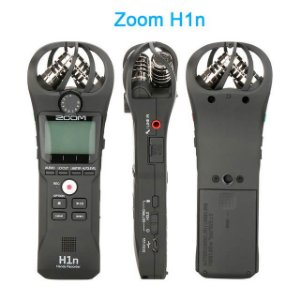 Gravador Digital Portátil Zoom H1n Handy Recorder