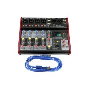 MK-USB8 MEAS/MIXER AUDIO 6CH COM INTERFACE DE AUDIO USB