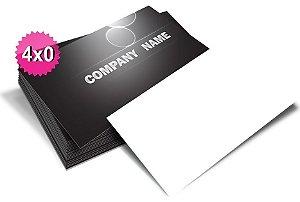 Cartão de visita 4x0 Frente 250g