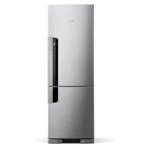 Geladeira Consul Frost Free Duplex 397 litros Evox com freezer embaixo [CRE44AK]