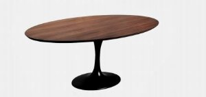 Mesa De Jantar Tremarin Saarinen Oval 2400mm