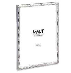 Porta-Retrato Mart Prata Em Metal - 15x20