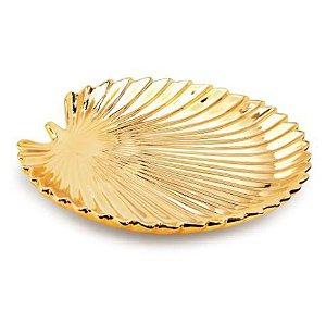 Folha Dourada Mart Em Ceramica