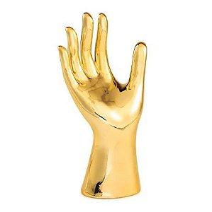 Escultura Mão Mart Em Ceramica