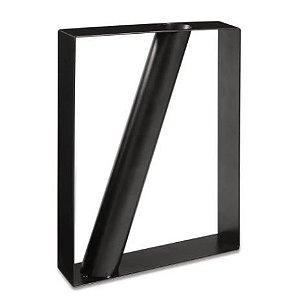 Vaso Geometrico Mart Em Metal 25x20x4cm