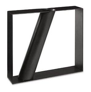 Vaso Geometrico Mart Em Metal 17x20x4cm