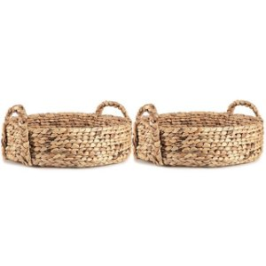 Kit Bandeja Mart Em Fibra Natural - 2 Pcs - 45x15cm