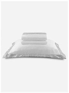 Jogo De Cama Casal Bordado By The Bed 300 Fios 100% Algodão 4 Peças - Brick