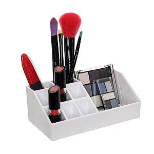 Organizador De Maquiagem Em Acrílico - Metaltru