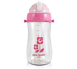 Squeeze Infantil Flor Rosa Claro - Jacki Design