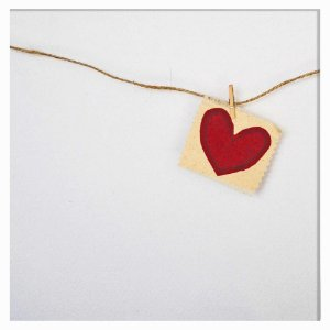 Quadro De Coração - Quadrum & Art
