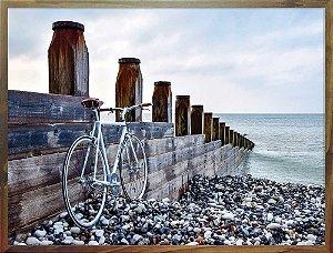Quadro Bicicleta E Mar - Quadrum & Art