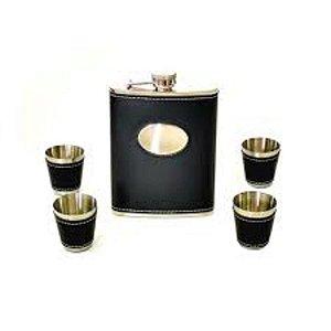 Kit Porta Uísque Black - Artes Zu