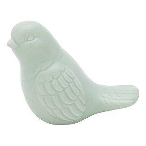 Pássaro de Cerâmica Verde - Urban