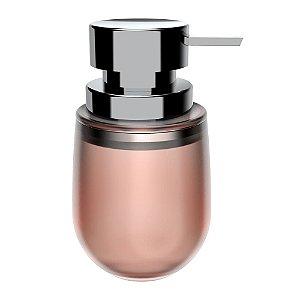 Porta Sabonete Líquido Rose Translúcido - OU