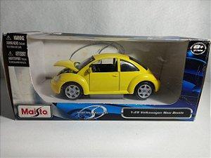 Miniatura Volkswagen Fusca - Escala 1/24 - Maisto