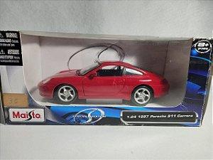 Miniatura Porsche 911 Carrera 1997 - Escala 1/24 - Maisto