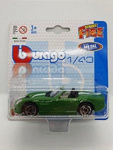 Miniatura Shelby Series One Verde - Escala 1/43 - Burago